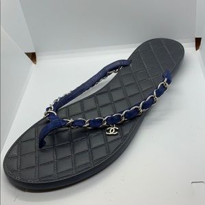 Chanel authentic Superstrong rubber bottom sandals